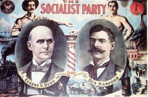 Eugene Debs 1904 Political Poster