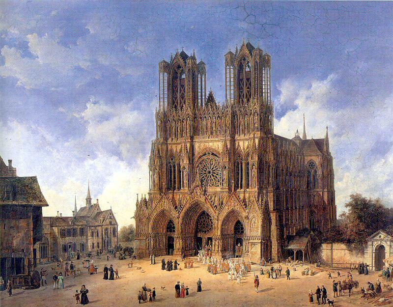 Plan Cathedrale Reims Cathédrale de Reims Par