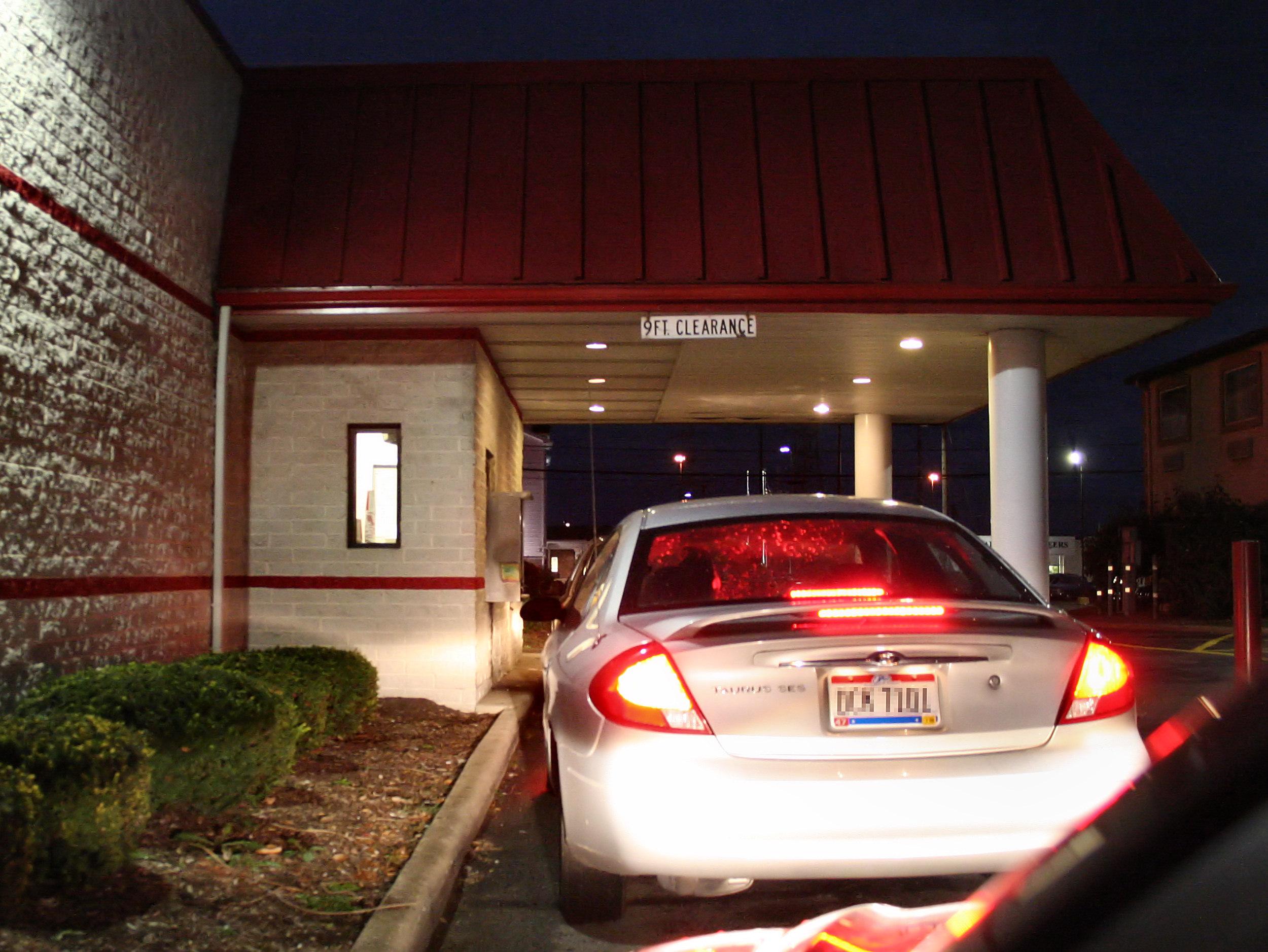 Fast Food Drive Thrus In Walnut Creek