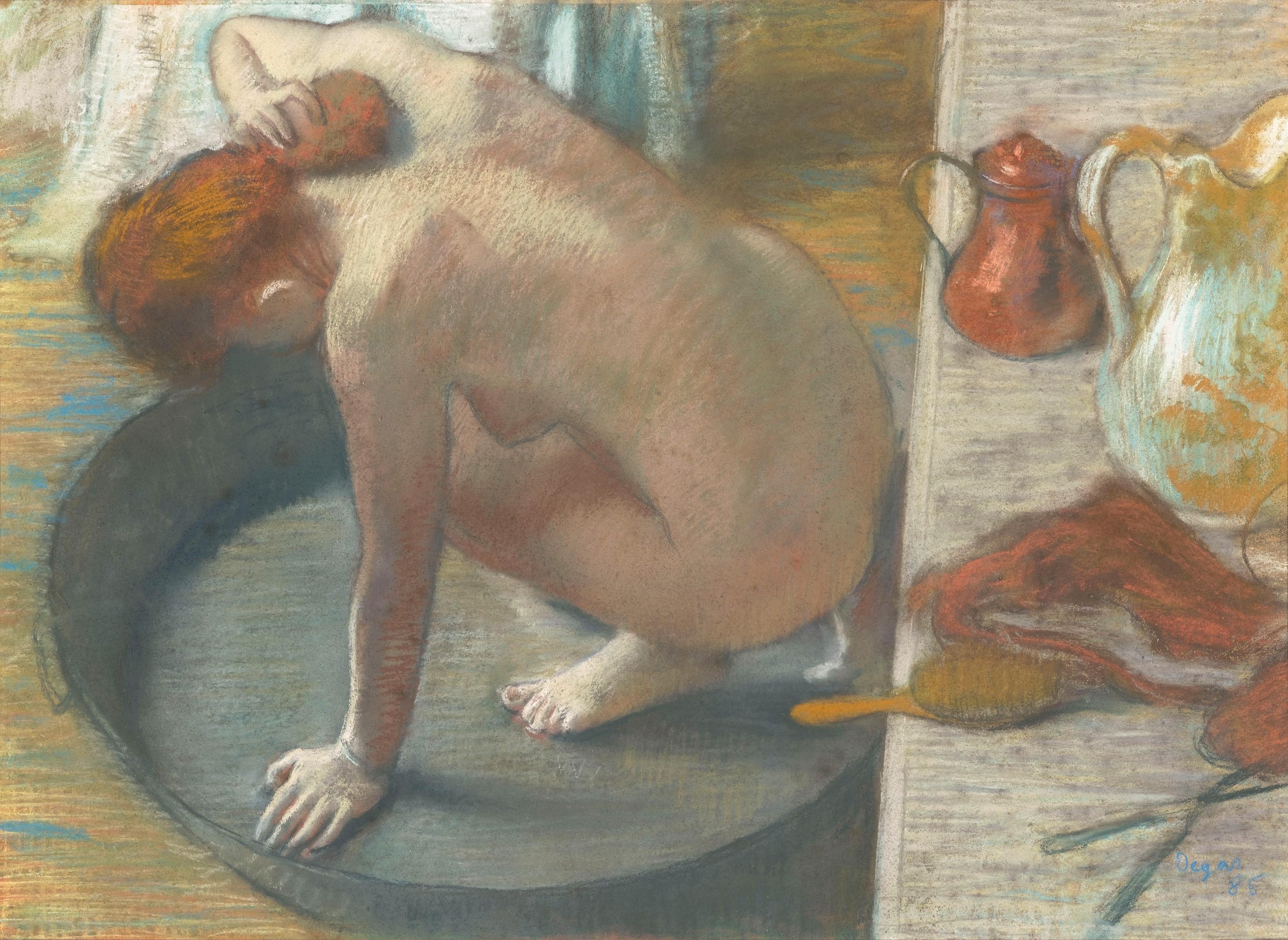 The Tub By Edgar Degas | AP Art History 2015-2016