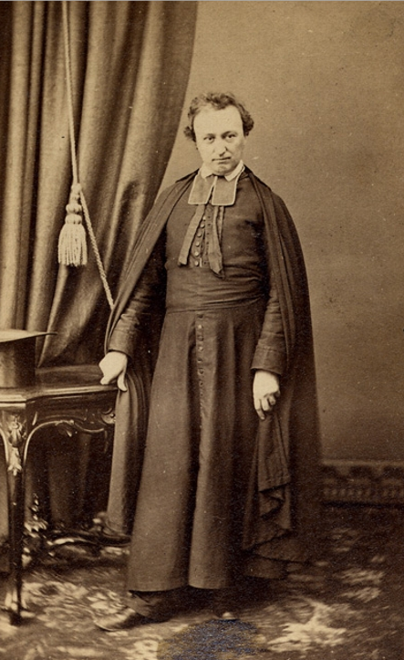 Original title:    Description Edmond Langevin, priest and vicar general Date c.1860 Source This image is available from the Bibliothèque et Archives nationales du Québec under the reference number P560,S2,D1,P609 This tag does not indicate the copyright status of the attached work. A normal copyright tag is still required. See Commons:Licensing for more information. Boarisch | Česky | Deutsch | Zazaki | English | فارسی | Suomi | Français | हिन्दी | Magyar | Македонски | Nederlands | Português | Русский | Tiếng Việt | +/− Author J. B. Livernois Permission (Reusing this file) Public domainPublic domainfalsefalse This Canadian work is in the public domain in Canada because its copyright has expired due to one of the following: 1. it was subject to Crown copyright and was first published more than 50 years ago, or it was not subject to Crown copyright, and 2. it is a photograph that was created prior