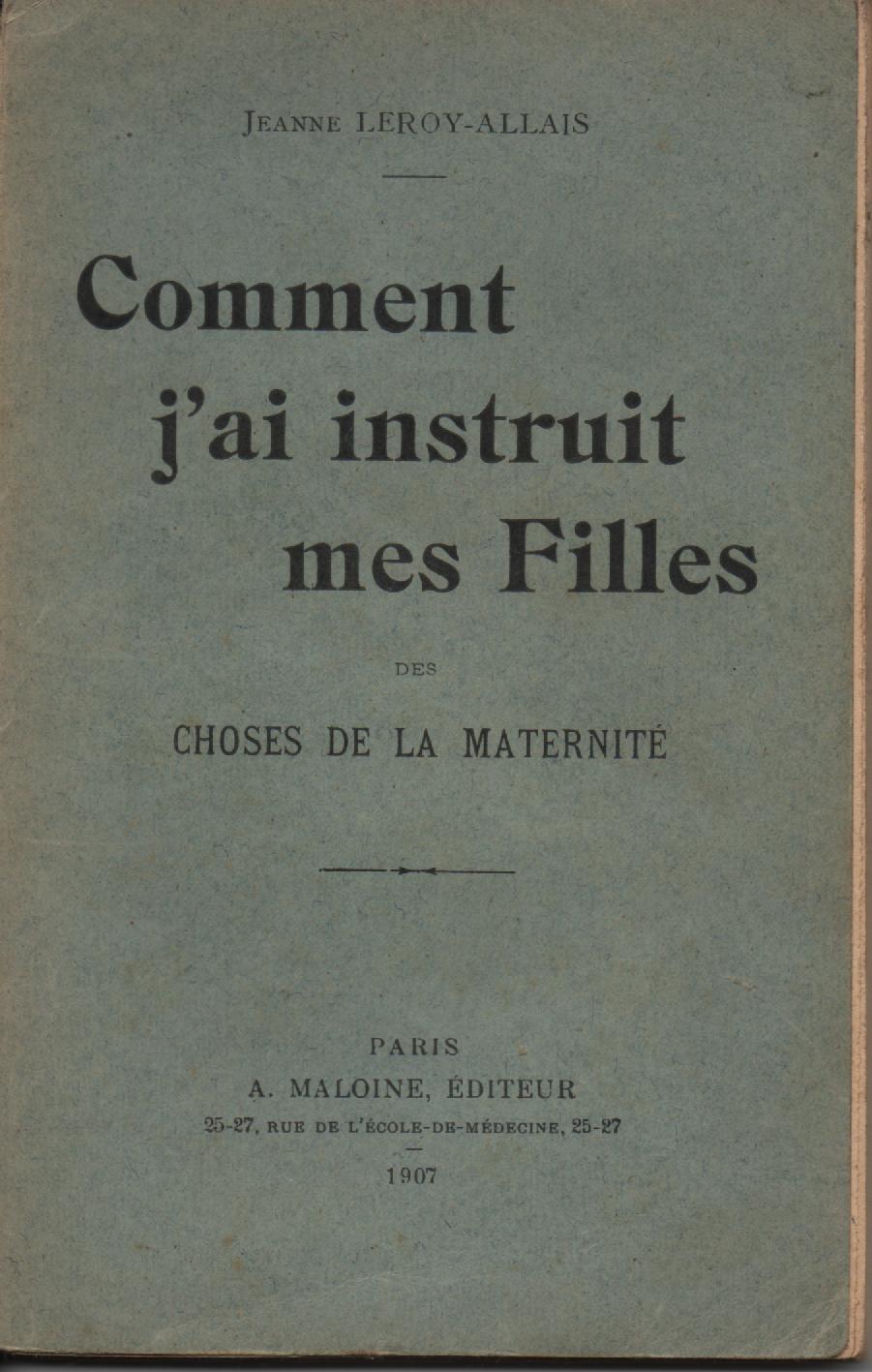 Fichier:Education-jeunes-filles Jeanne LEROY-ALLAIS 1907.jpg