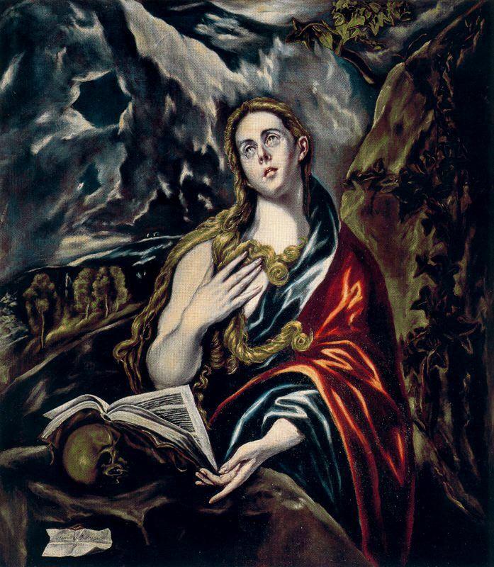 The Penitent Magdalen Georges De La Tour  Tapestry