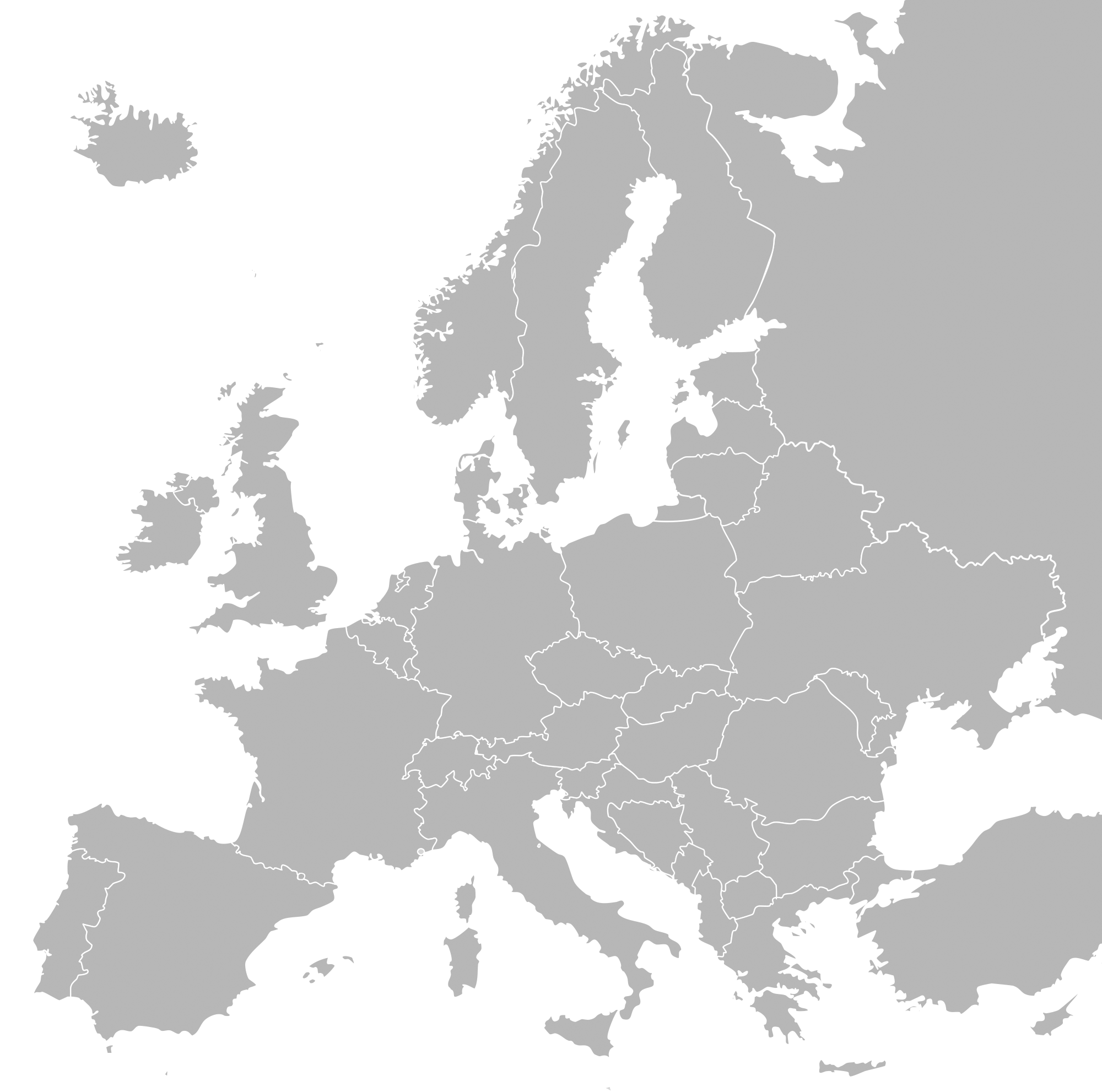 Map Of Europe Simple Papegaaienparadijs