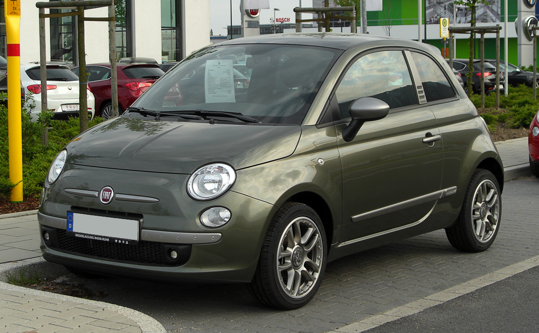 fiat 500 by diesel wikiwand. Black Bedroom Furniture Sets. Home Design Ideas