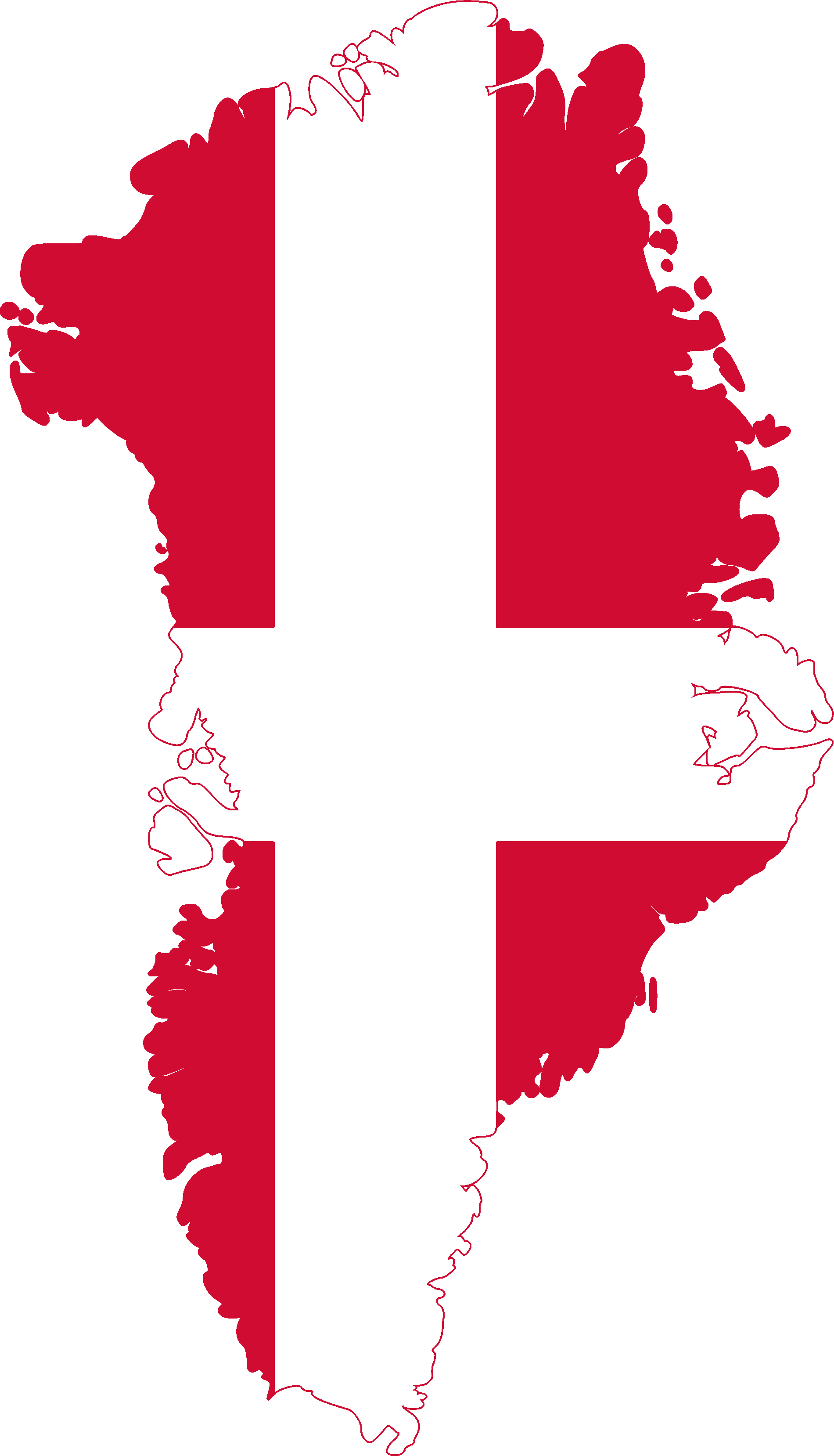 File Flag Map Of Greenland Denmark Png Wikimedia Commons