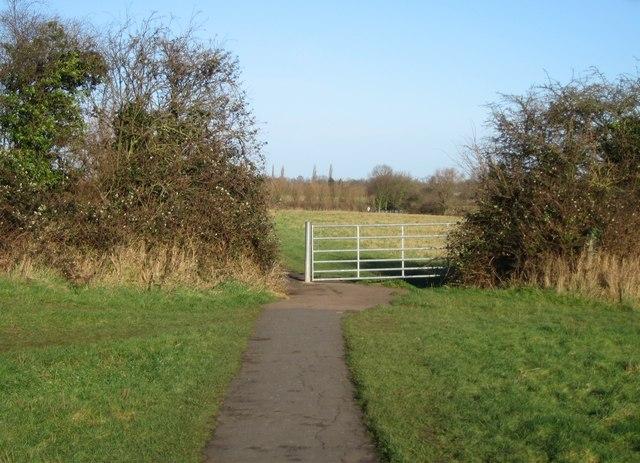 Footpath through Grantchester Meadows - geograph.org.uk - 795603
