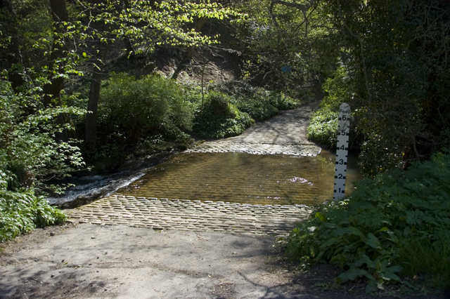 Ford, Glaisdale Beck (geograph 1862328)