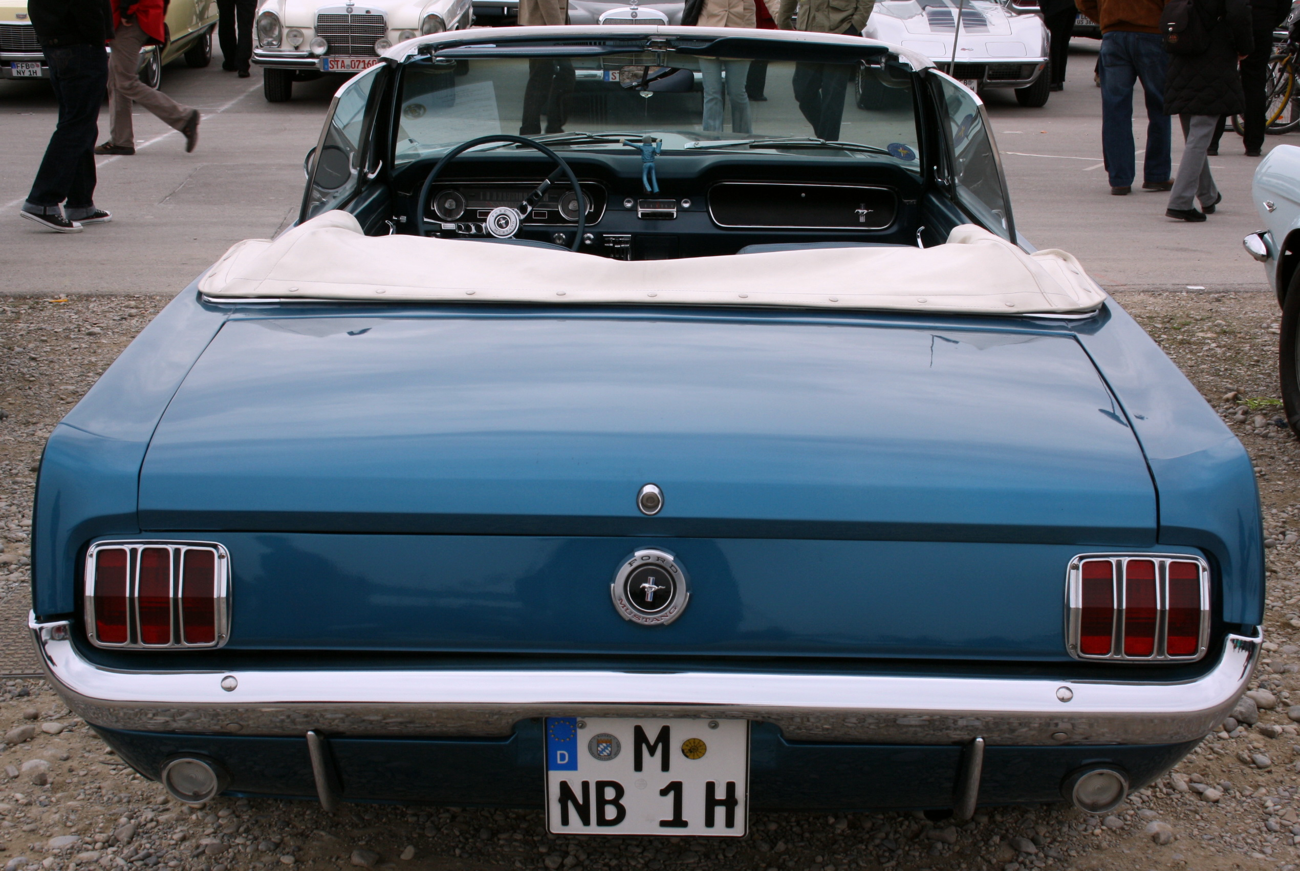 File ford mustang bj 1964 100 ps 6 zylinder 3 3 l hubraum heck