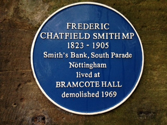 Photo of Frederic Chatfield Smith blue plaque