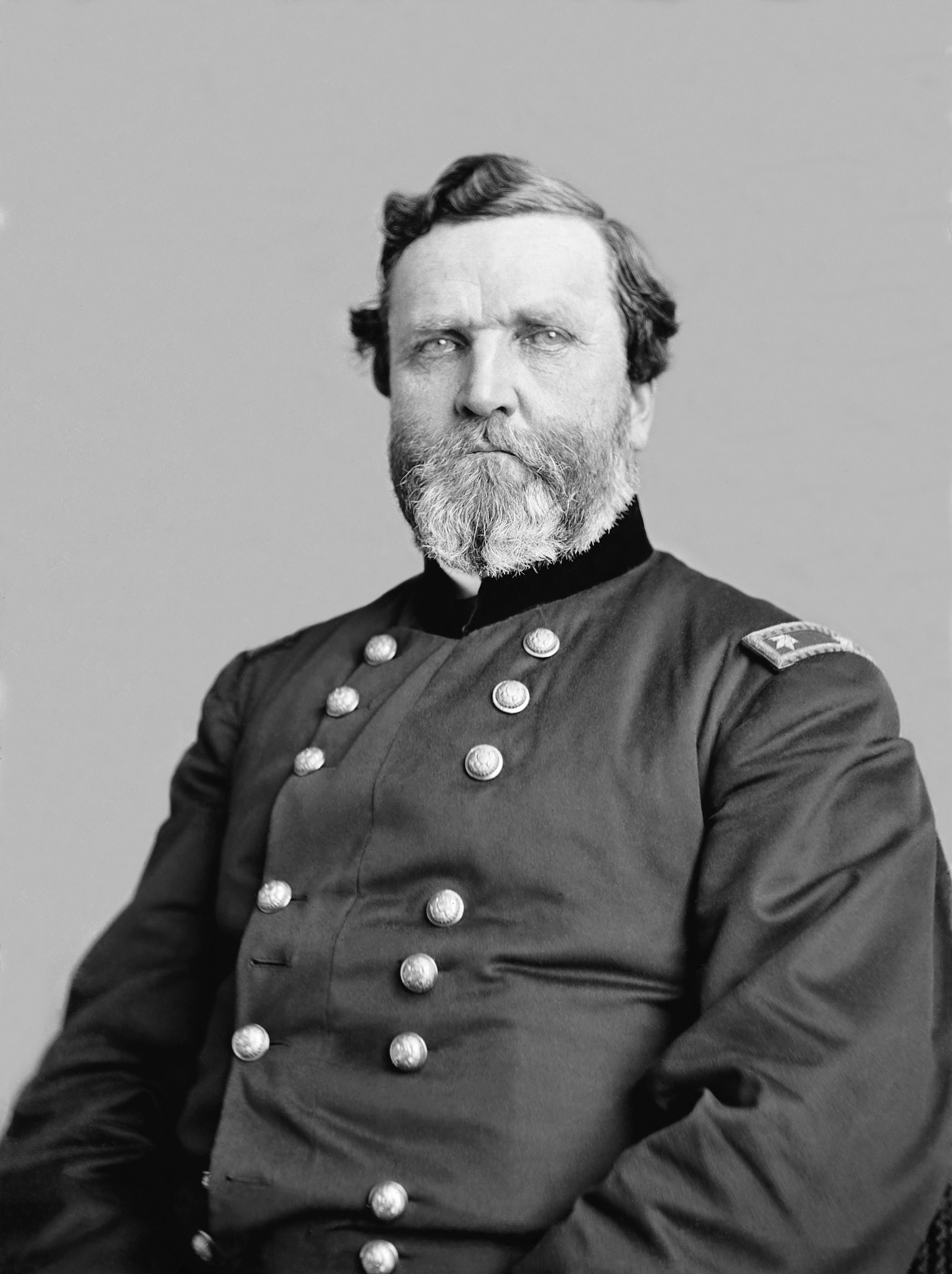 portrait of Civil War general
