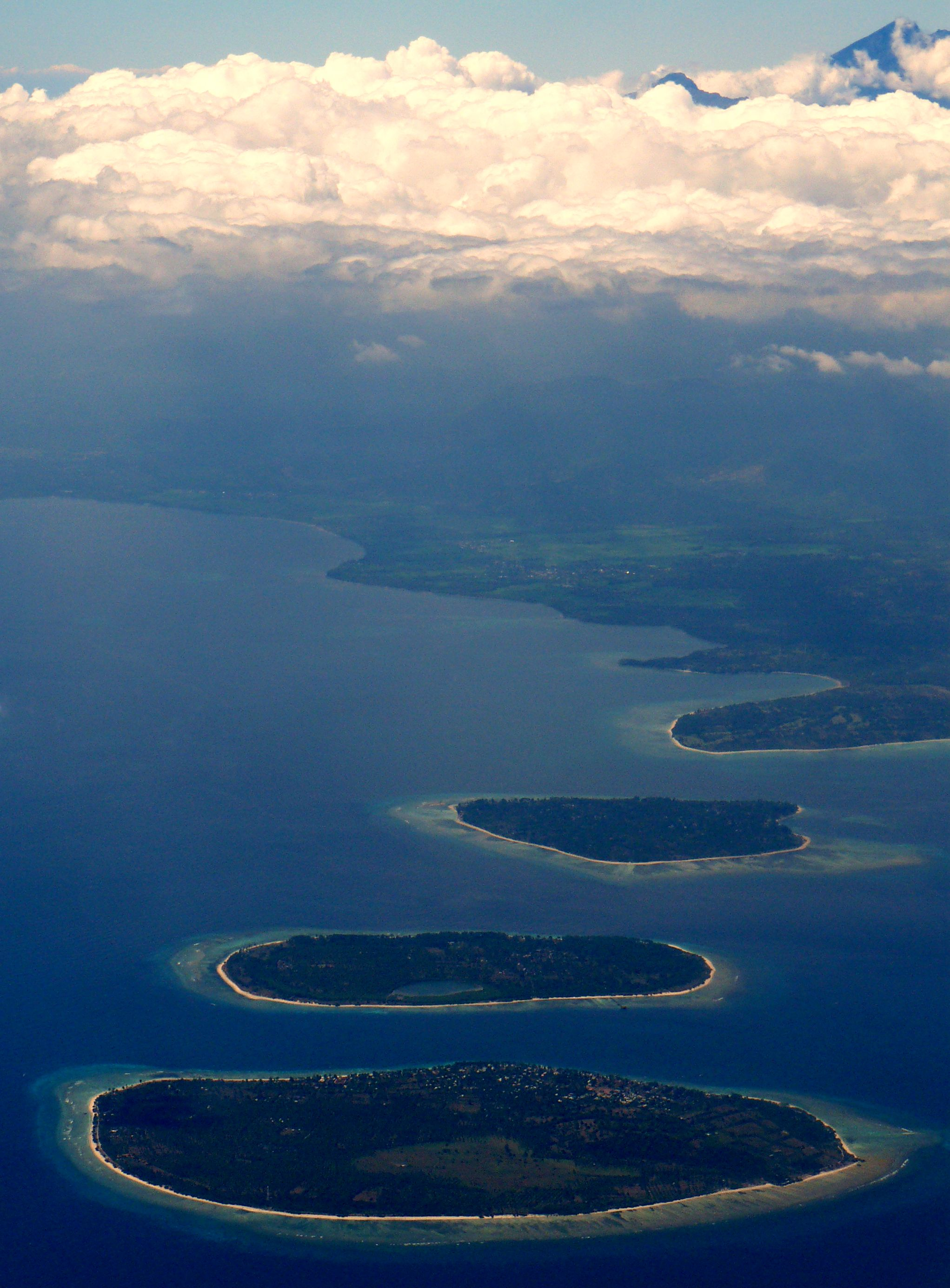 Gili Islands Indonesia Location