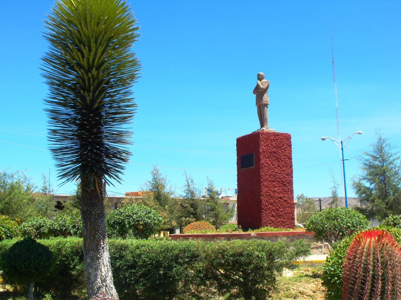 Statue of Carrillo