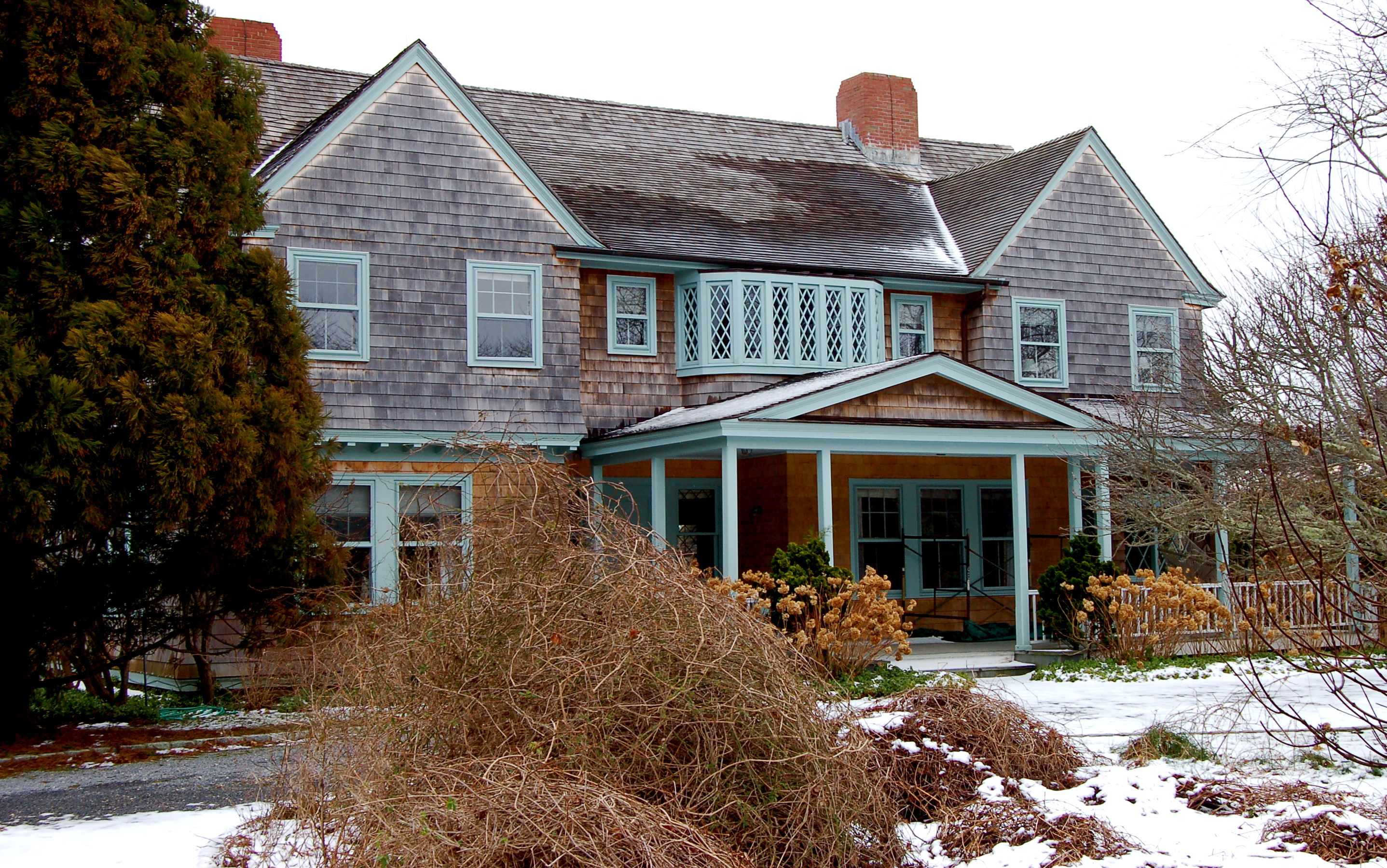 Grey Gardens House Before And After