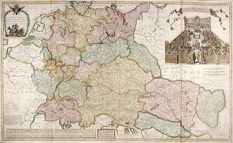 Map Of Old Germany.Atlas Of States Of Germany Wikimedia Commons