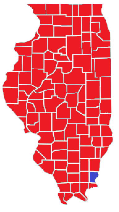 Fileillinois Gubernatorial Election Results By County  Png
