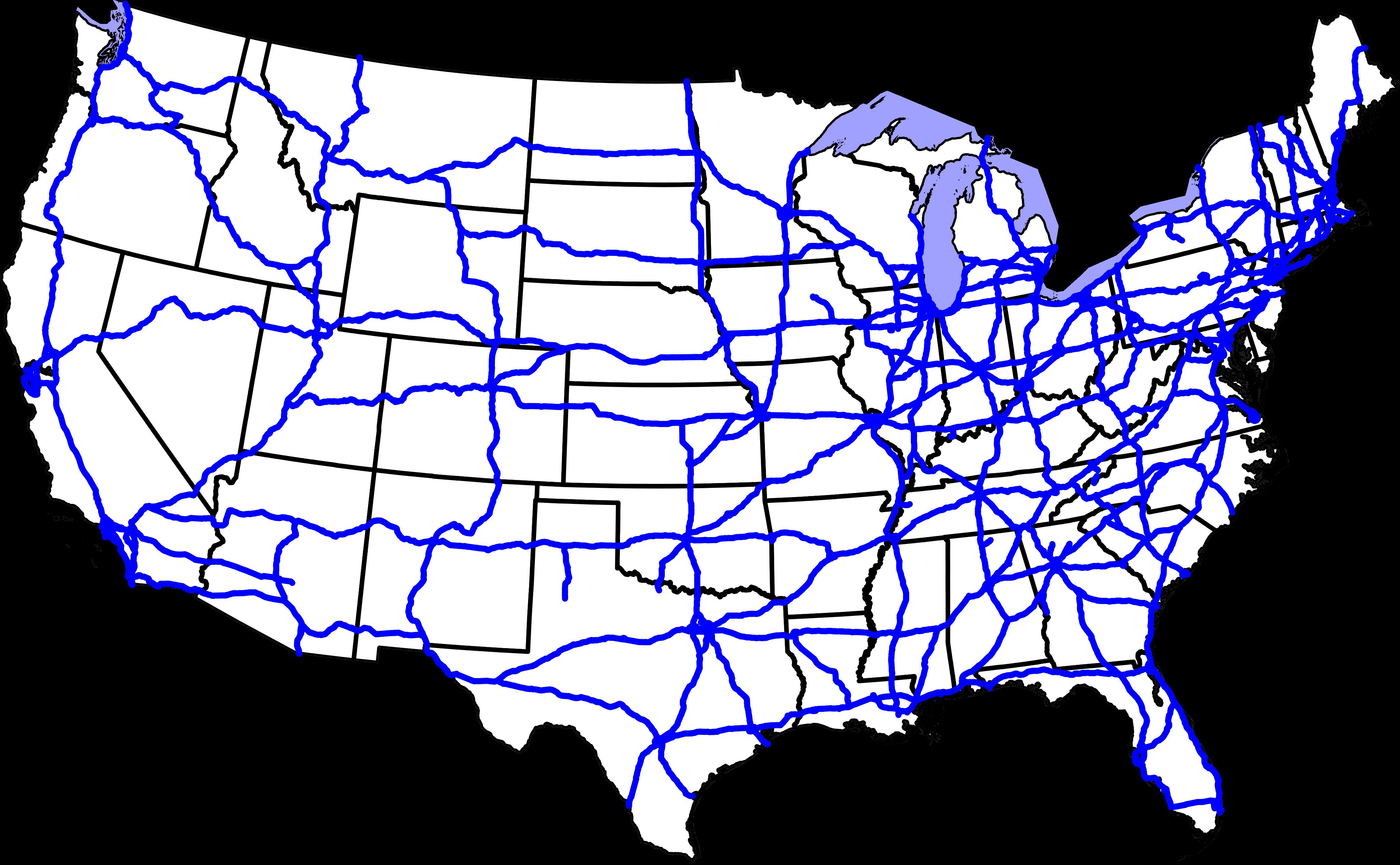 US Interstate Map Interstate Highway Map FileInterstate Highway - Us map with interstates