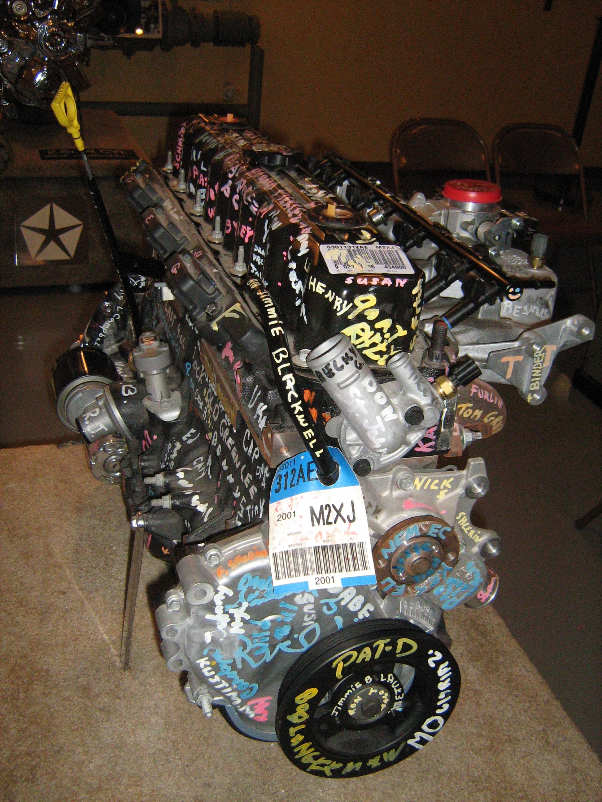 Chrysler v6 engines dohc