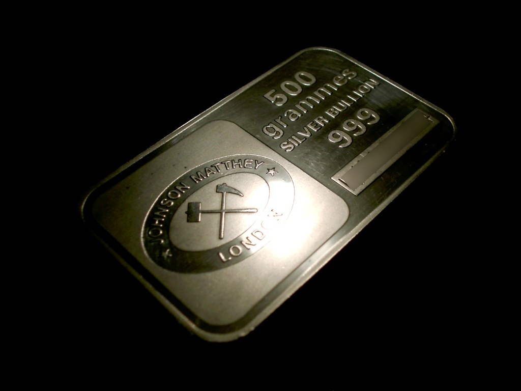 File Johnson Matthey 500 Grammes Silver Bullion Jpg