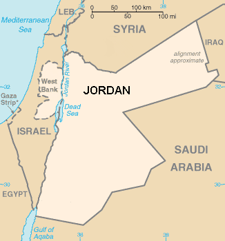 Jordania se anexa Cisjordania