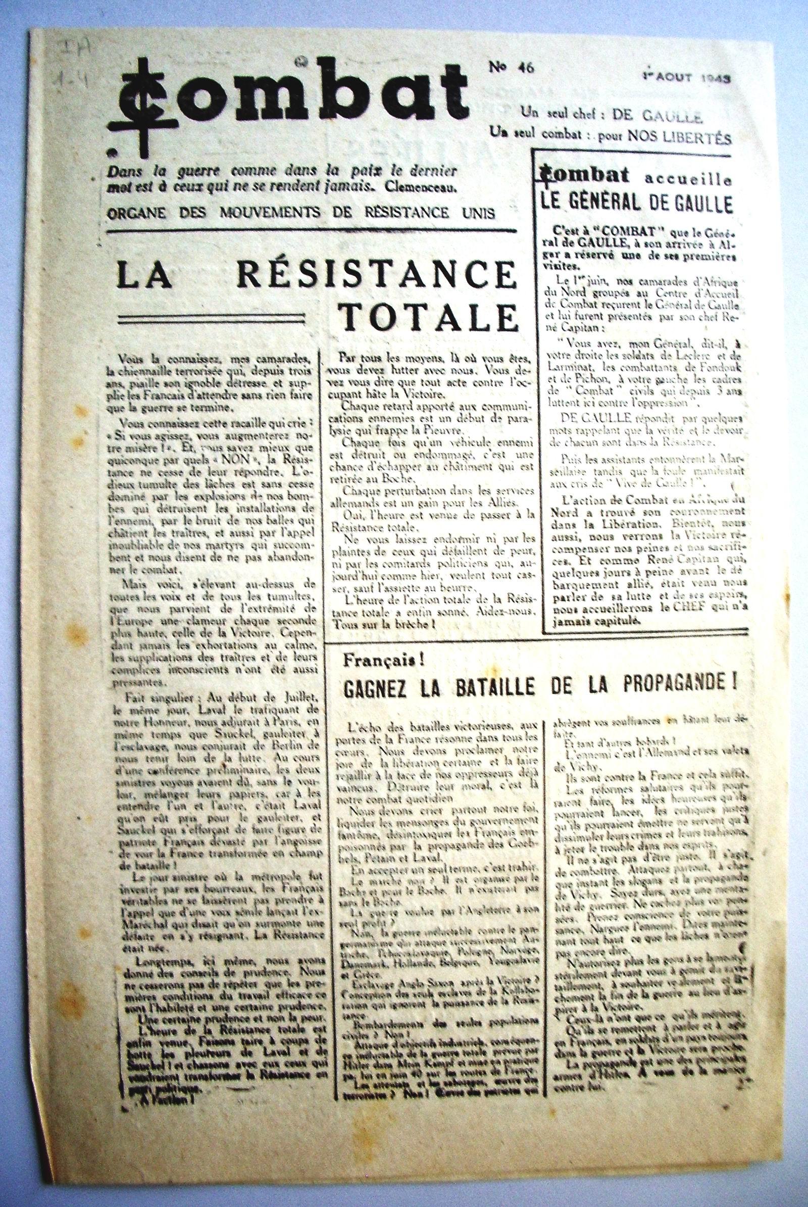 Le Journal De La Ville Etaploise De Juillet