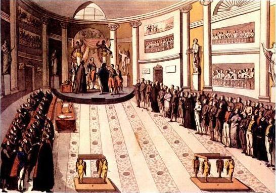 Resultado de imagen de trienio liberal jura fernando VII