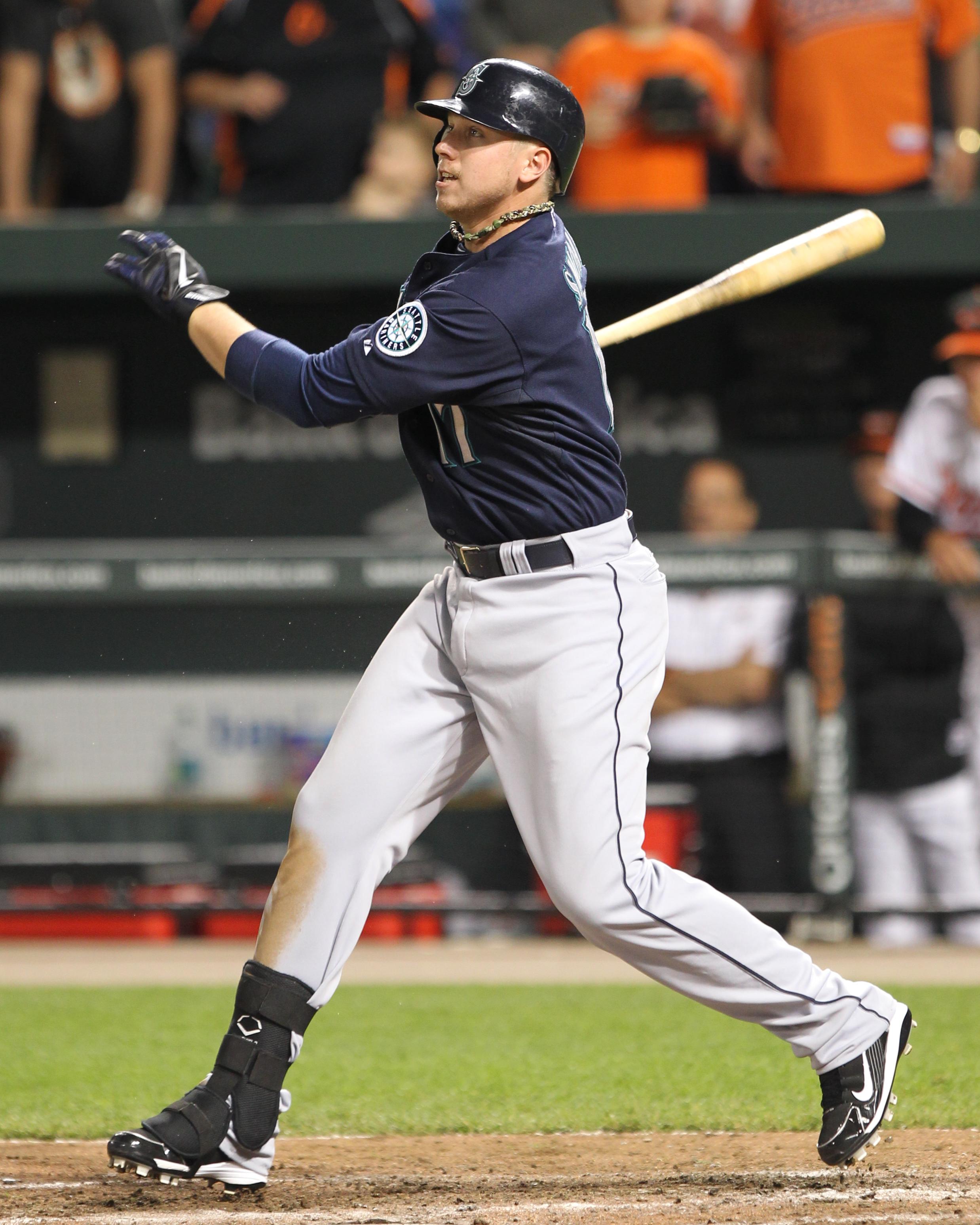 File:Justin Smoak on May 10, 2011 (2).jpg - Wikimedia Commons