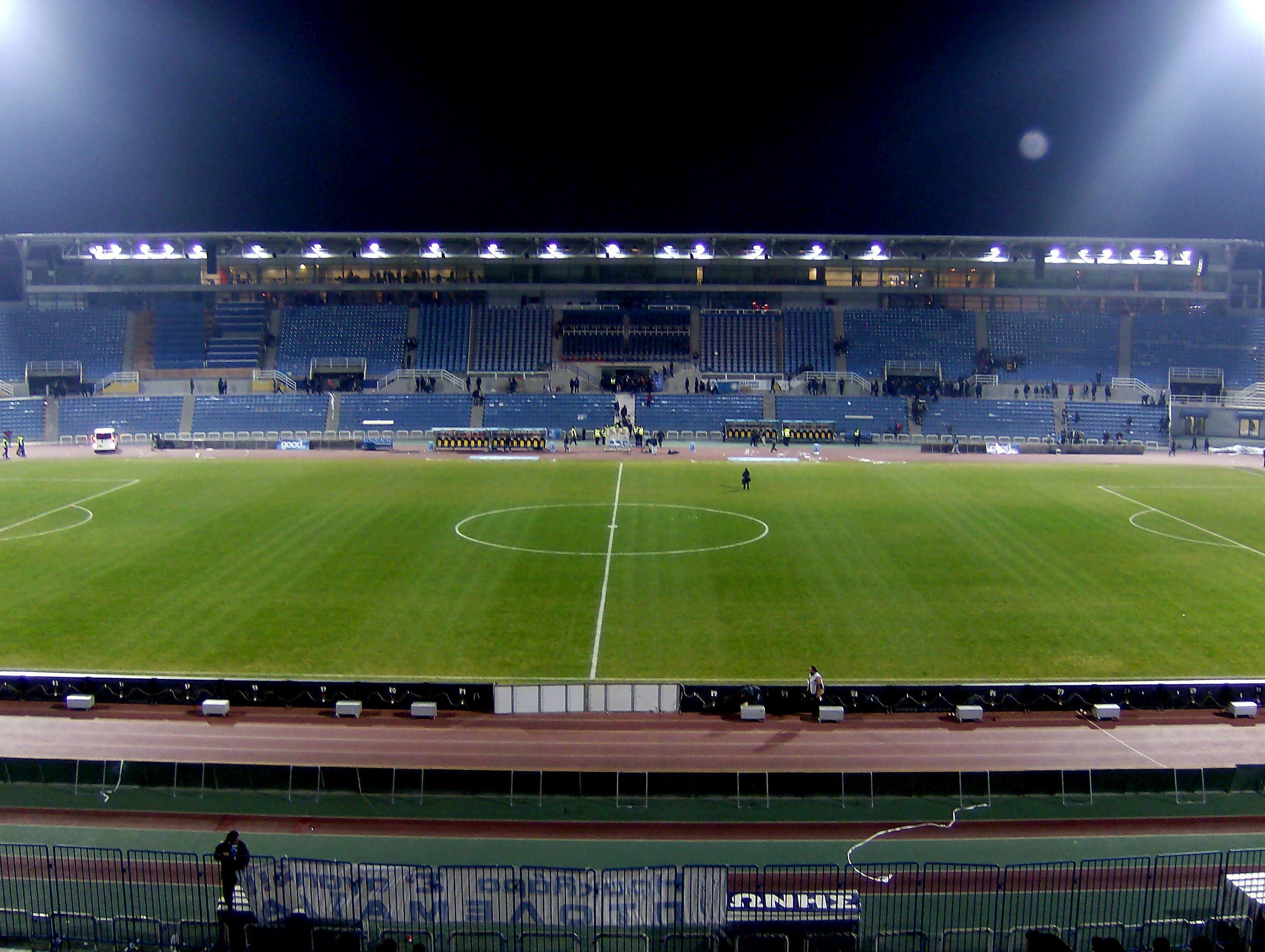 Depiction of Estadio Kaftanzoglio