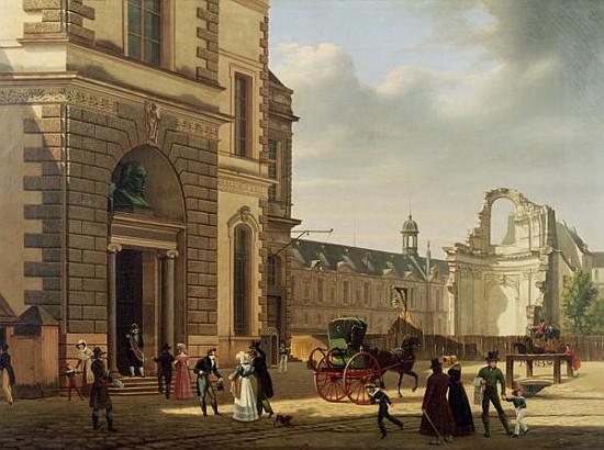Glise saint louis du louvre wikip dia - Date de construction du louvre ...