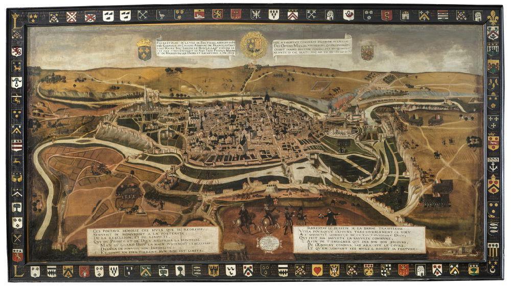 Si U00e8ge De Poitiers  1569   U2014 Wikip U00e9dia