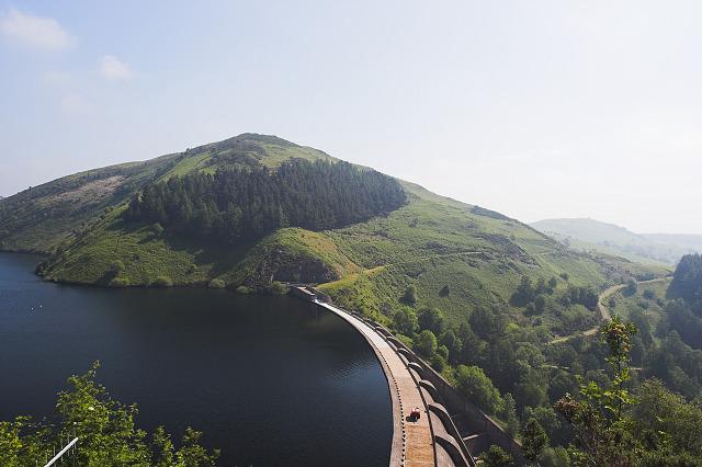 Llyn Clywedog dam - geograph.org.uk - 481386