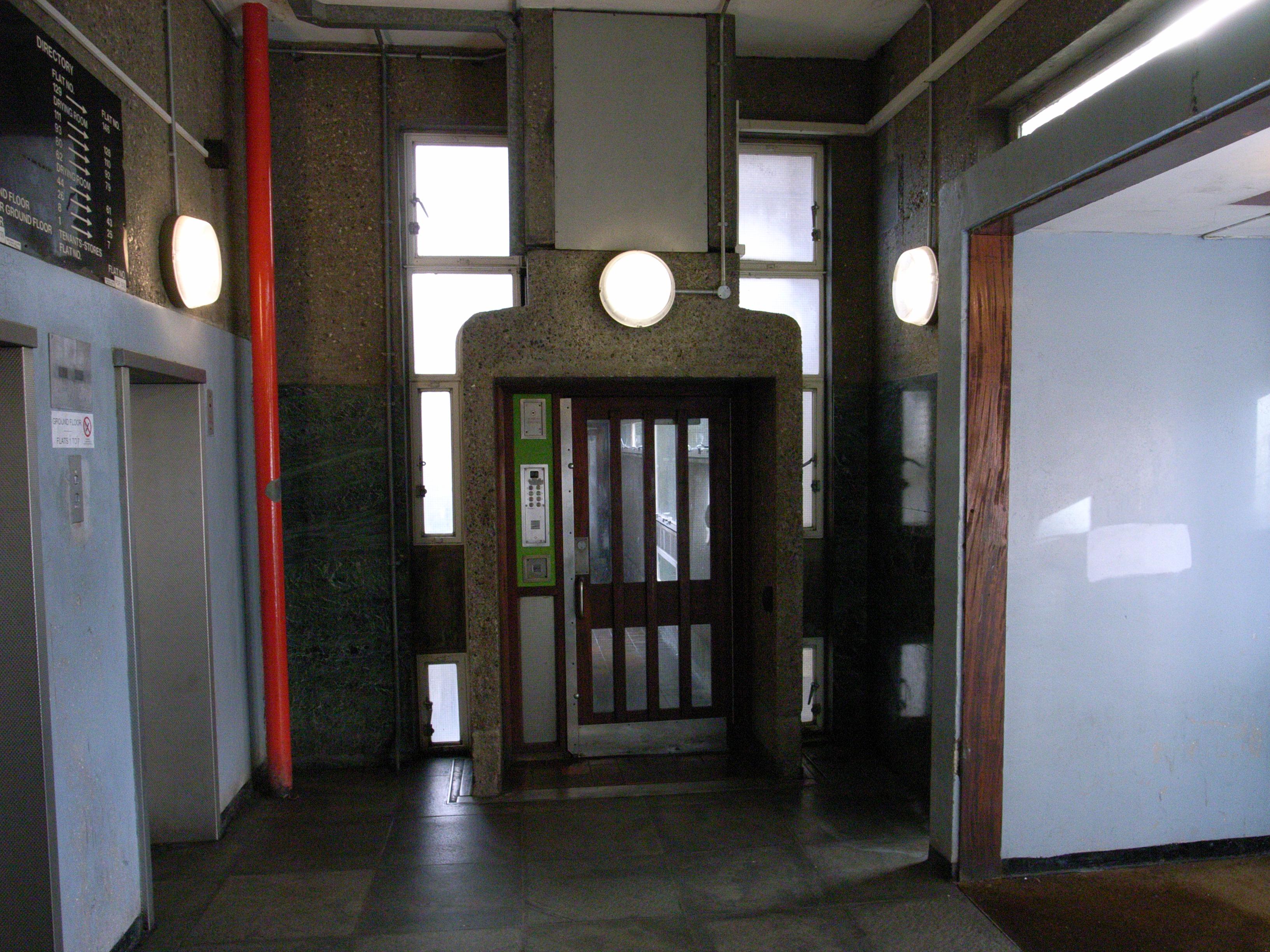 File Lobby The Balfron Tower Jpg Wikimedia Commons