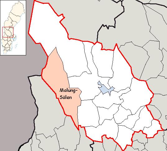 kart over malung sverige Malung Sälen Municipality   Wikipedia kart over malung sverige
