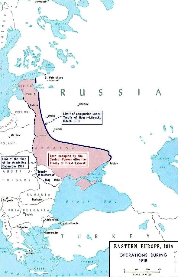 FileMap Treaty of BrestLitovskenjpg Wikimedia Commons