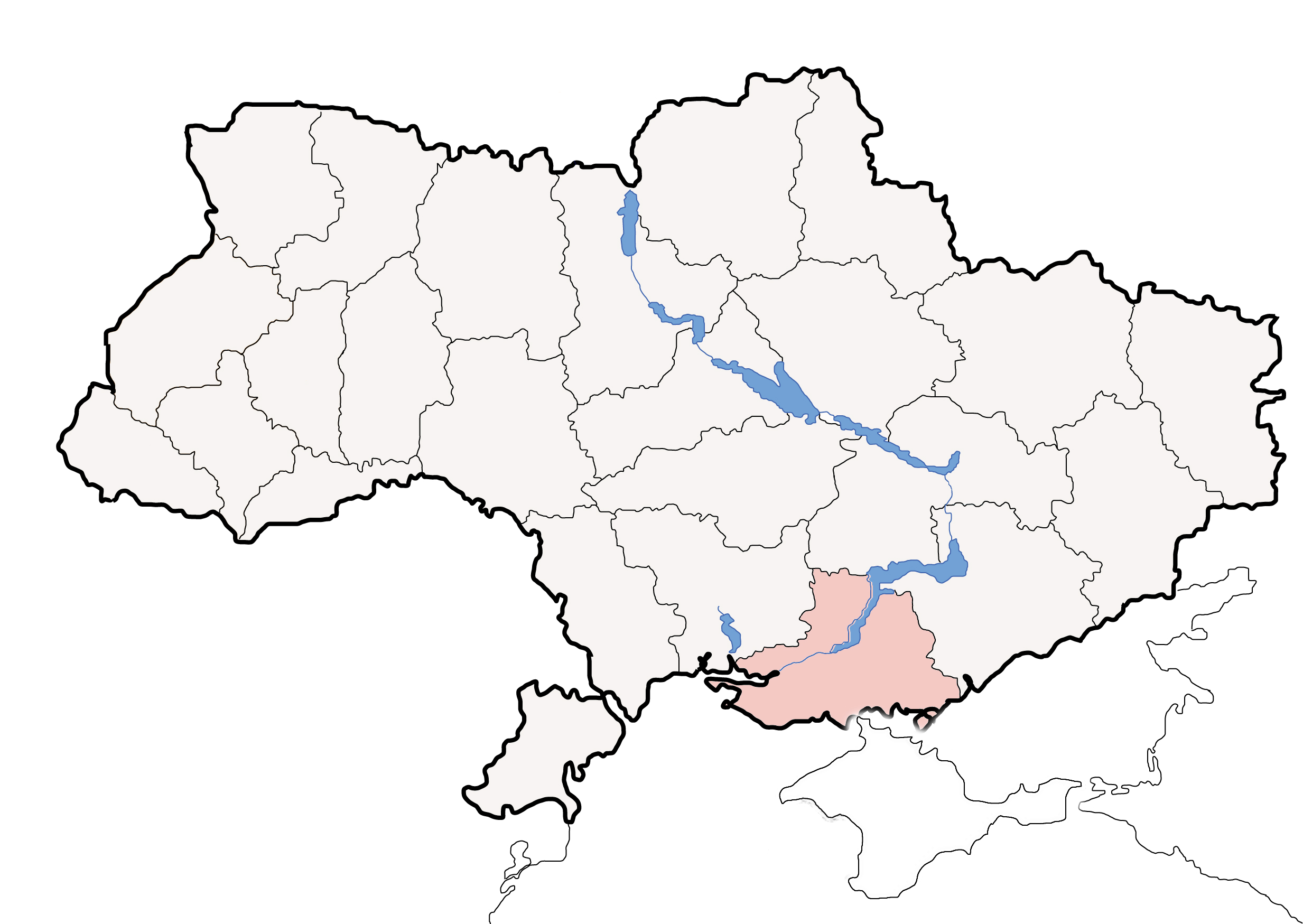 FileMap of Ukraine Oblast Chersonjpg  Wikimedia Commons