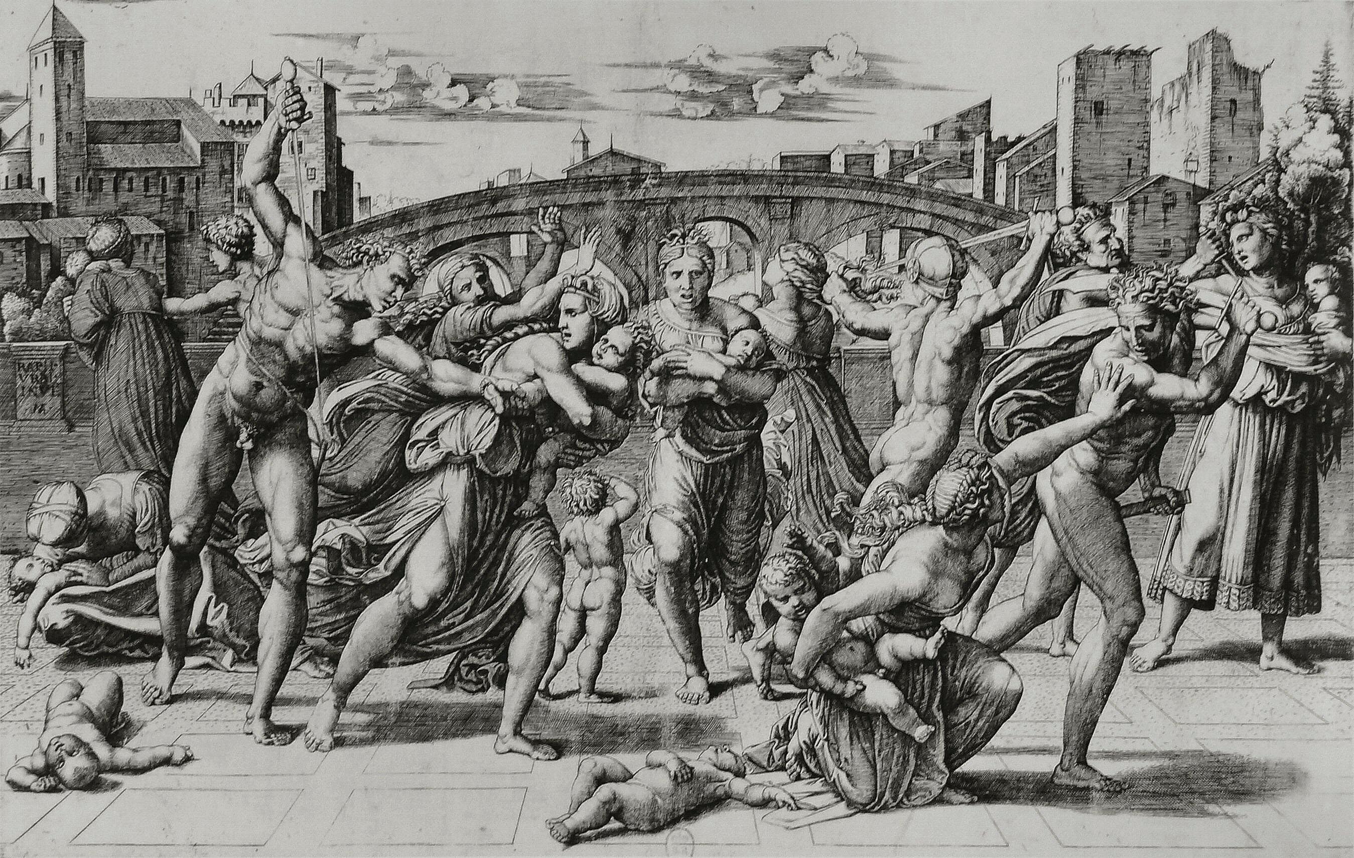 File:Marcantonio Raimondi - Massacre des innocents.jpg ...