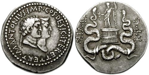 Mark Antony and Octavia