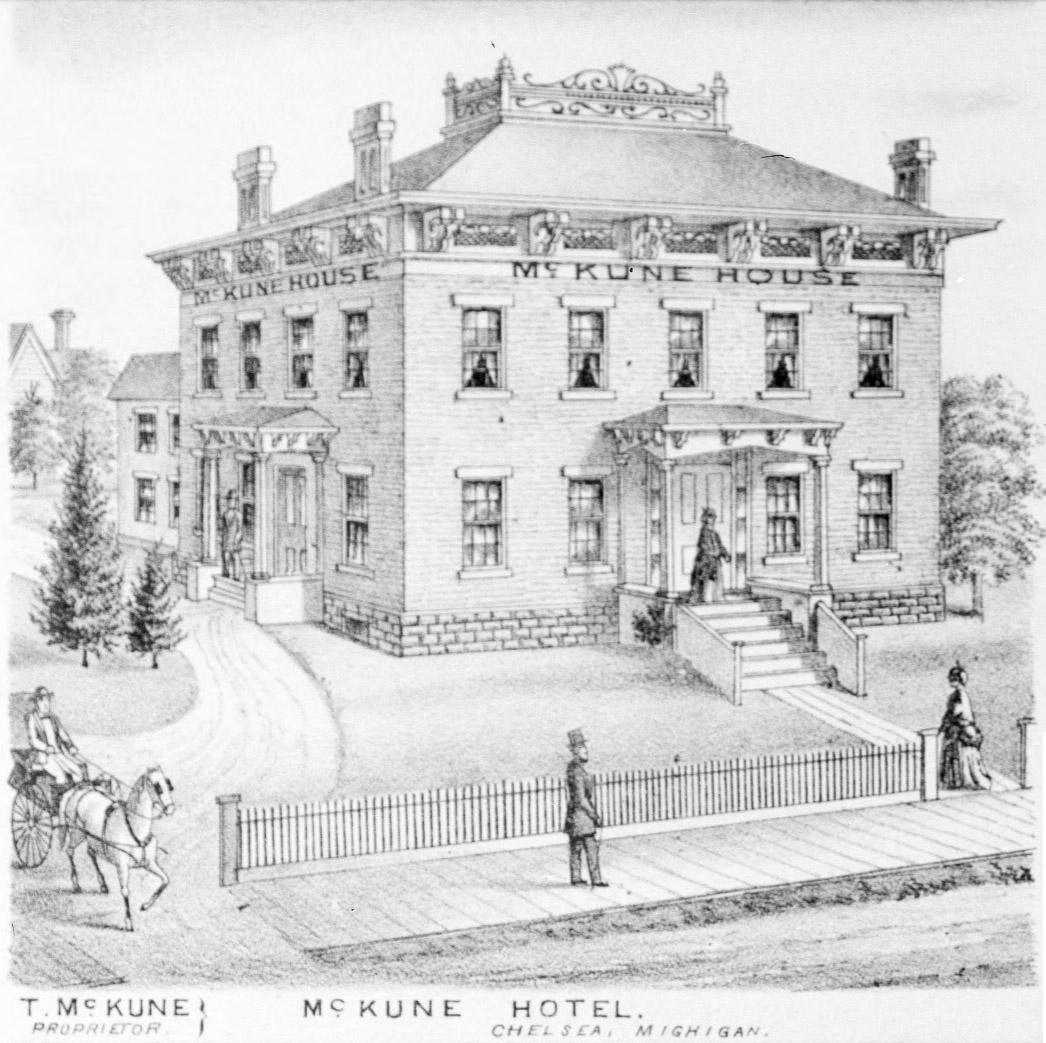 File Mckune House Hotel Chelsea Mi C1874 Jpg Wikimedia Commons