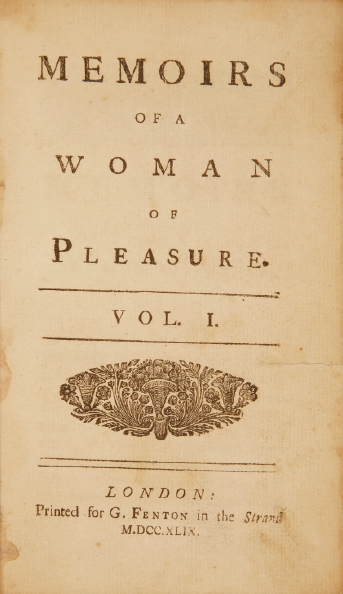 File:Memoirs of a Woman of Pleasure Fanny Hill 1749 edition title page.jpg
