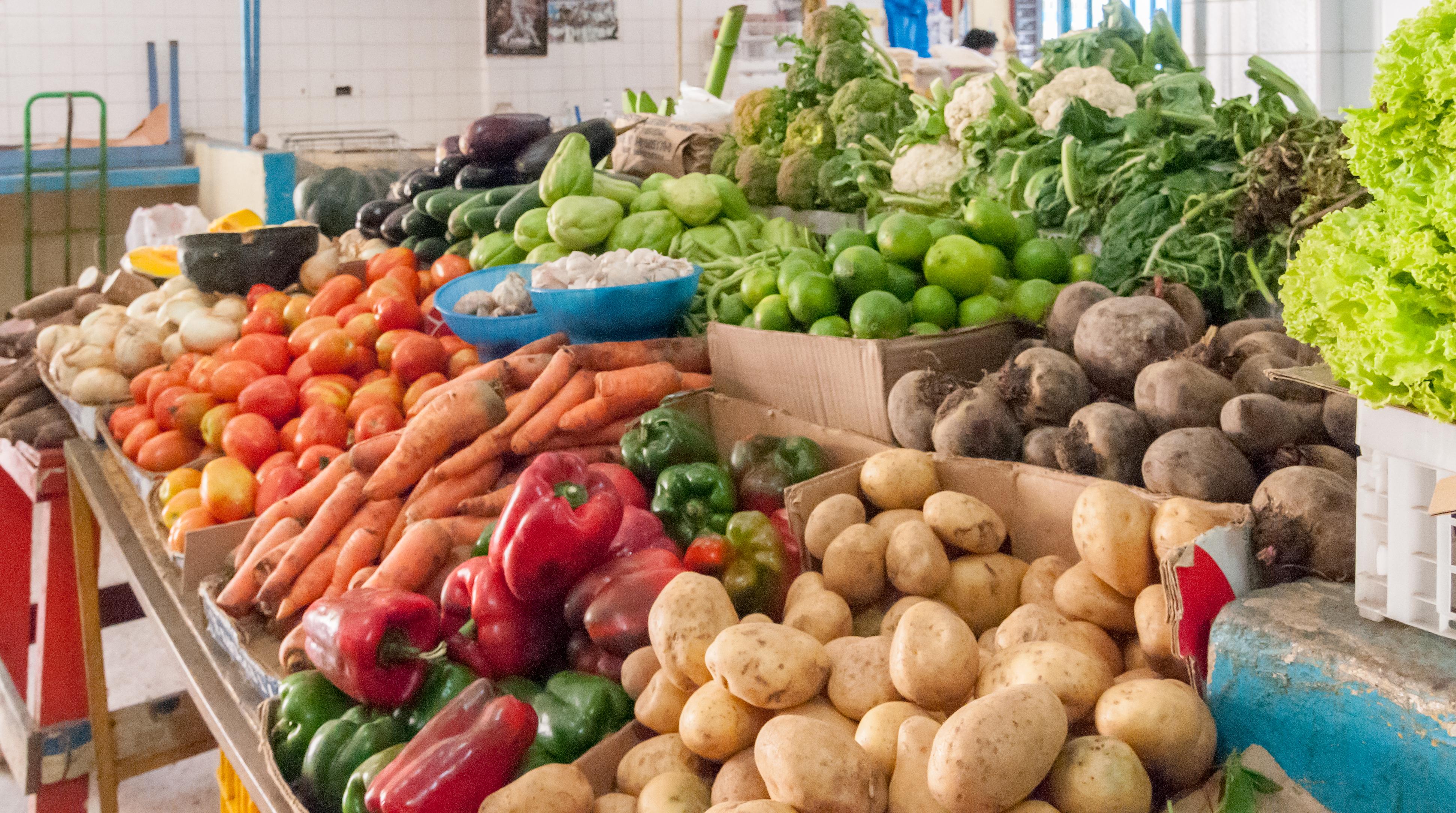 Alimentos para bajar de peso: más Verduras