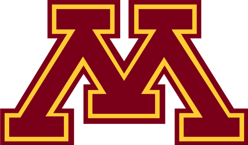 Minnesota Volleyball athletic logo