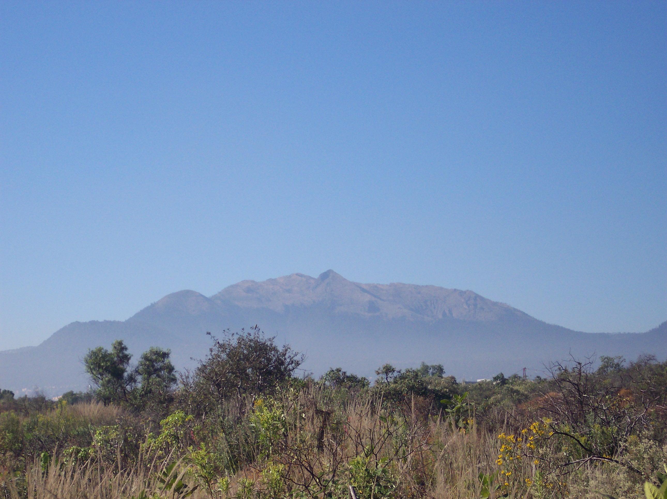 Depiction of Sierra de Ajusco-Chichinauhtzin