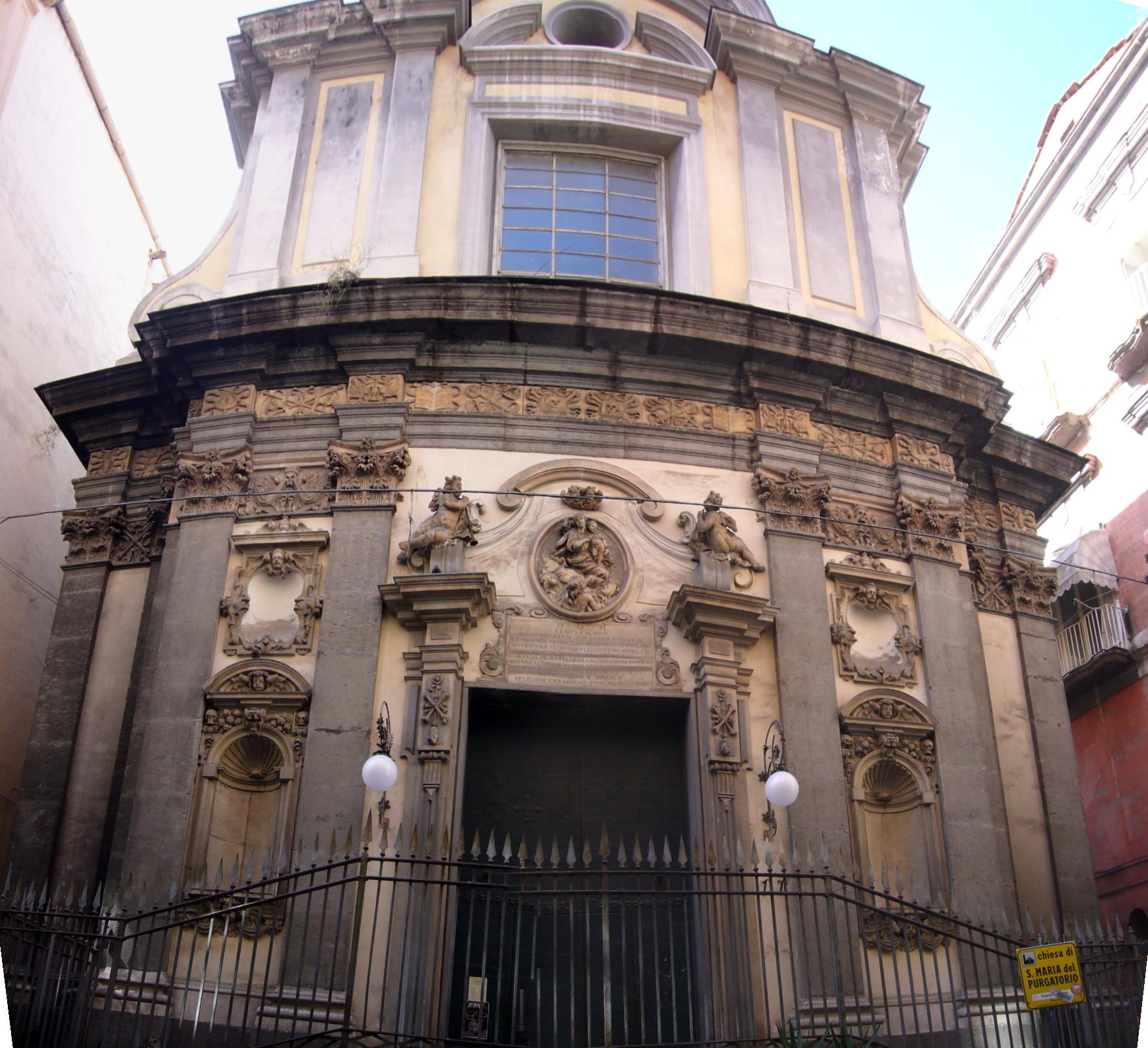 Chiesa di santa maria delle anime del purgatorio ad arco for Cabina del tetto ad arco
