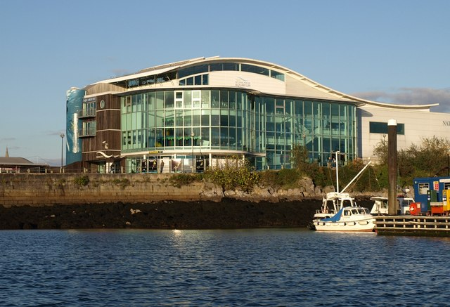 File National Marine Aquarium Plymouth Geograph Org Uk