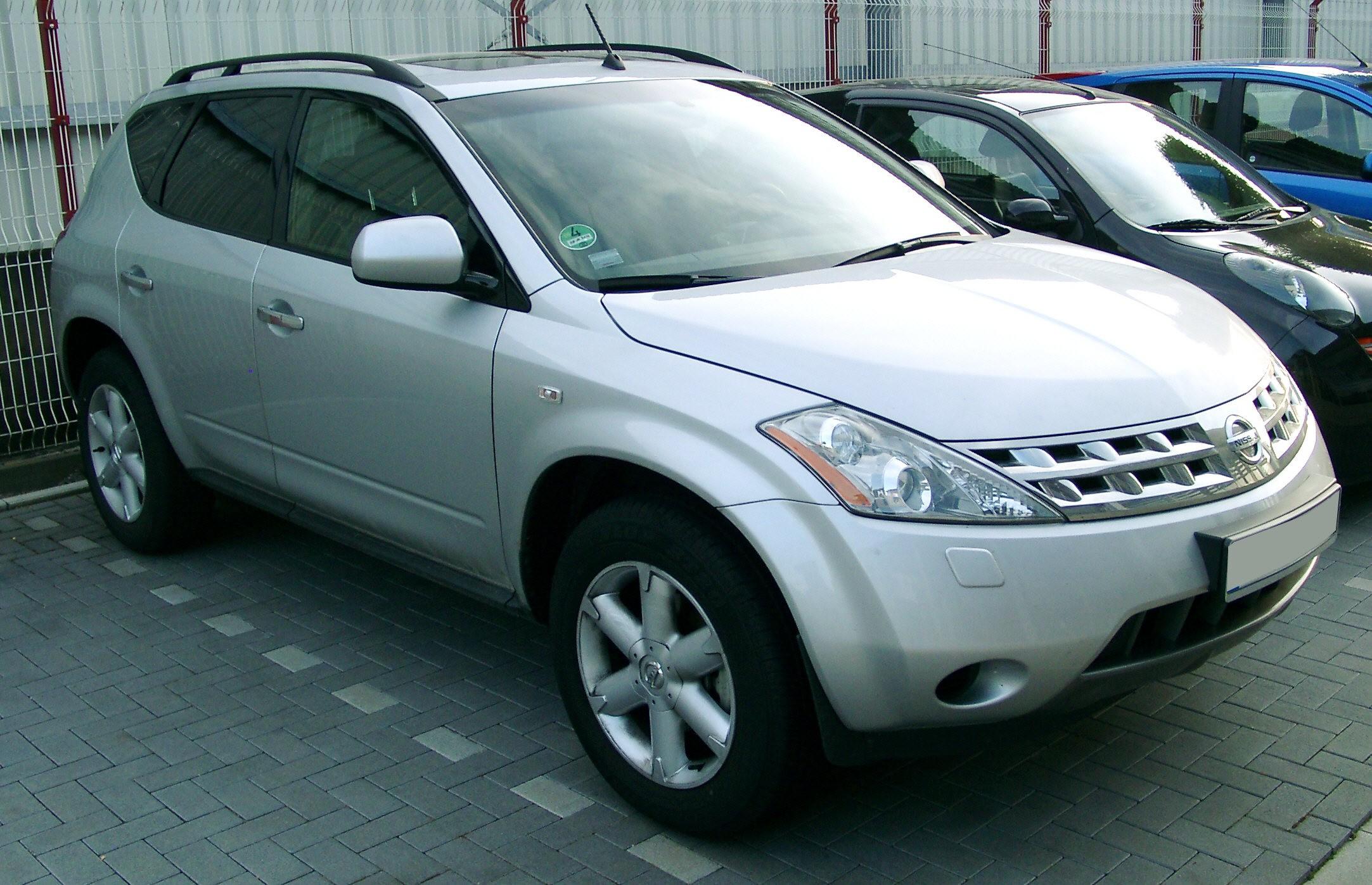 File Nissan Murano Front 20070521 Jpg