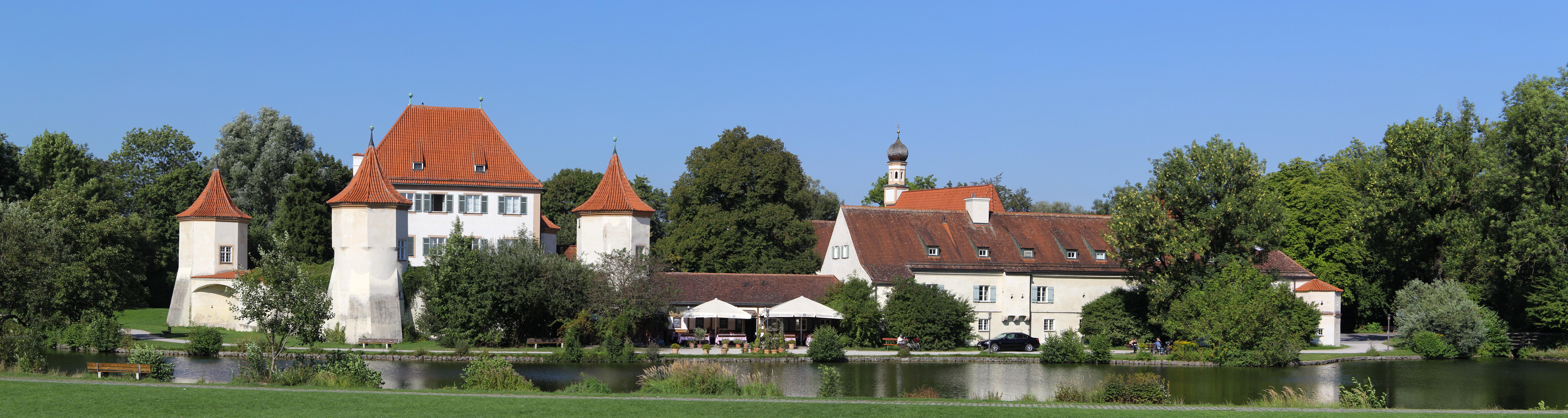 Datei:Obermenzing - Schloss Blutenburg - Panorama 5 (5 Bilder).jpg ...