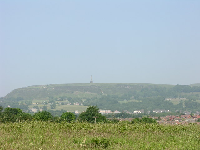 Peel tower, Holcombe Hill - geograph.org.uk - 464838