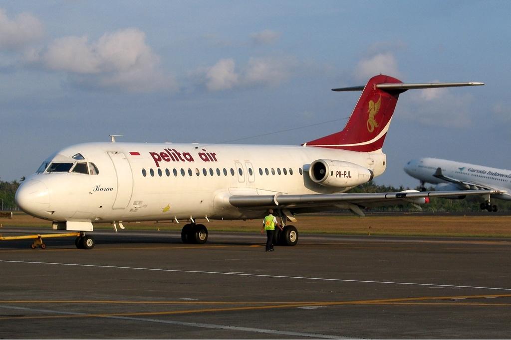 Airline Pelit Air Service (Pelita Air Service). sayt.2 officiel