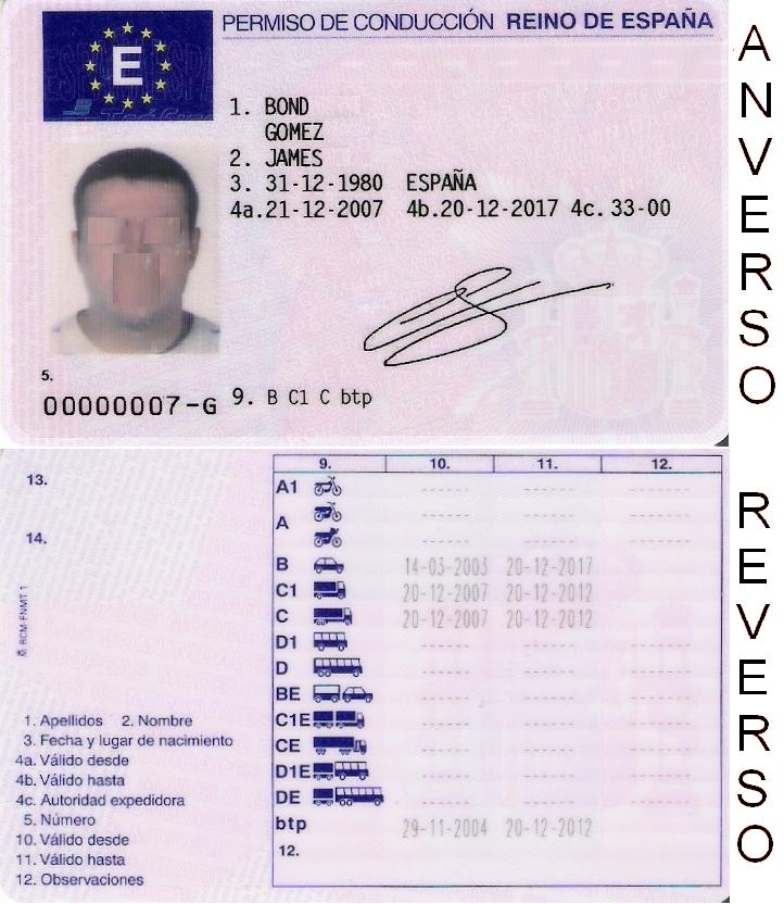 Exchange Europe Stack - Travel Driving Id As The License Valid Is European In