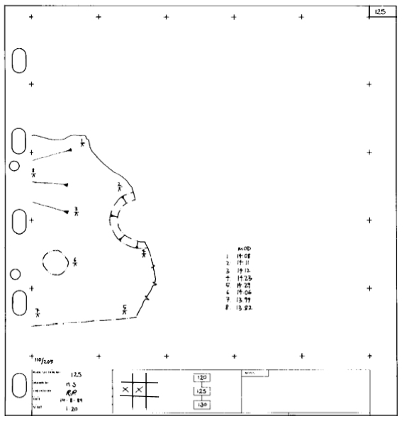 Example Site Plan Map: Plan (archaeology)
